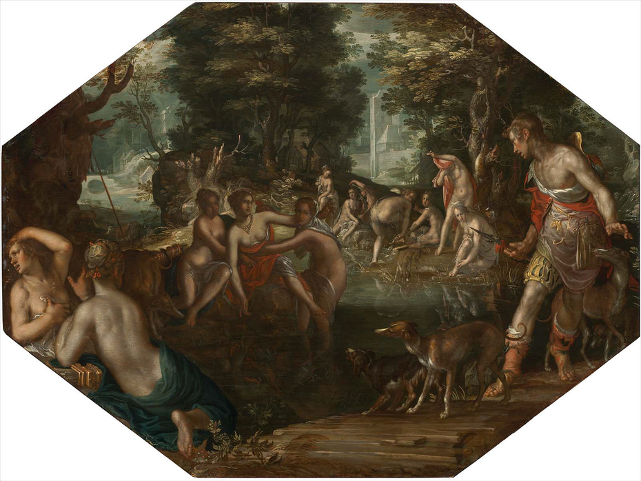 Actaeon Watching Diana and Her Nymphs Bathing
