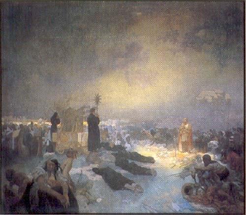 After the Battle of Vítkov Hill