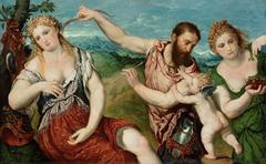 Allegoy (Mars, Venus, Flora and Cupid)
