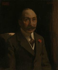 Andries van Wezel (1856-1922). Koopman te Antwerpen, legateerde in 1922 zijn schilderijenverzameling aan het Rijksmuseum