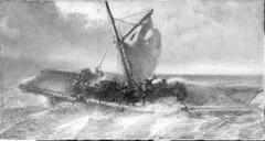 Anno 1711. Jan Willem Friso verdrinkt bij de Moerdijk