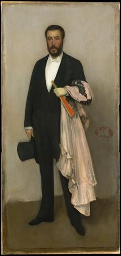 Arrangement in Flesh Colour and Black: Portrait of Theodore Duret