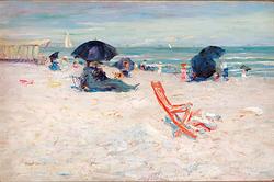 Beach at Atlantic City