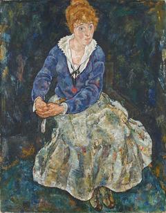 Bildnis der Frau des Künstlers, Edith Schiele