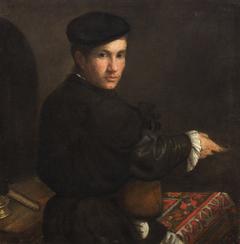 Bildnis eines Jünglings mit Mandoline