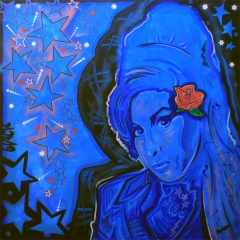 Black lady Winehouse