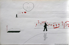 C'EST UN MALHEUR QU'IL N'AIT PAS ACHEVÉ SA XEME SYMPHONIE - A pity/Mahler he didn't complete his 10th symphony - by Pascal