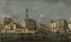 Canal Grande bei San Geremia
