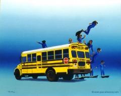 CAR DE RAMASSAGE - School Busl -  by Pascal