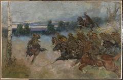 Cavalry charging