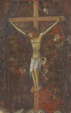 Christ on the Cross [reverse]