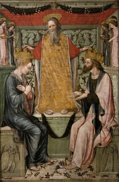 Coronation of Christ and the Virgin by God the Father