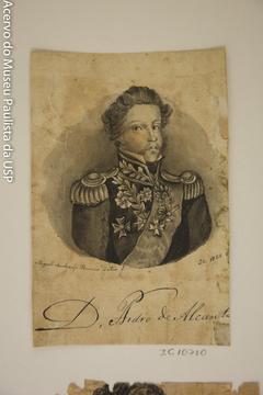 D. Pedro de Alcantara - Álbum M. A. B. A. D. - Prancha N.8