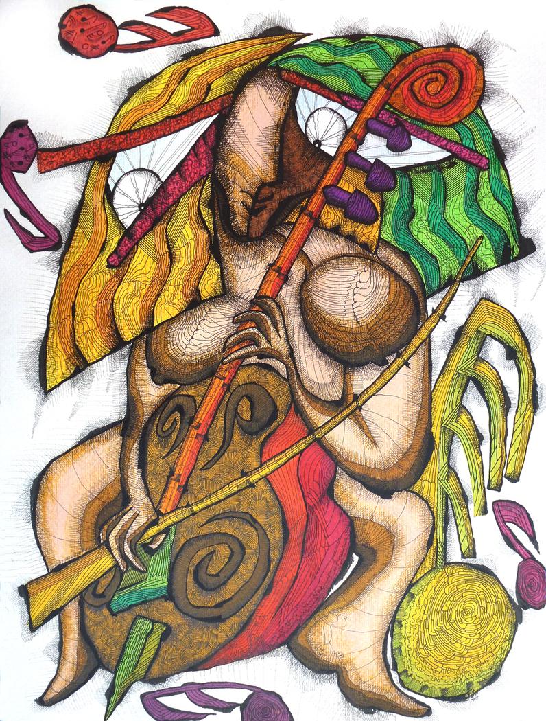 Dame og Cello / Lady and Cello