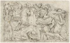 De Boog van Constantijn met Trajanus' overwinning op de Daciërs