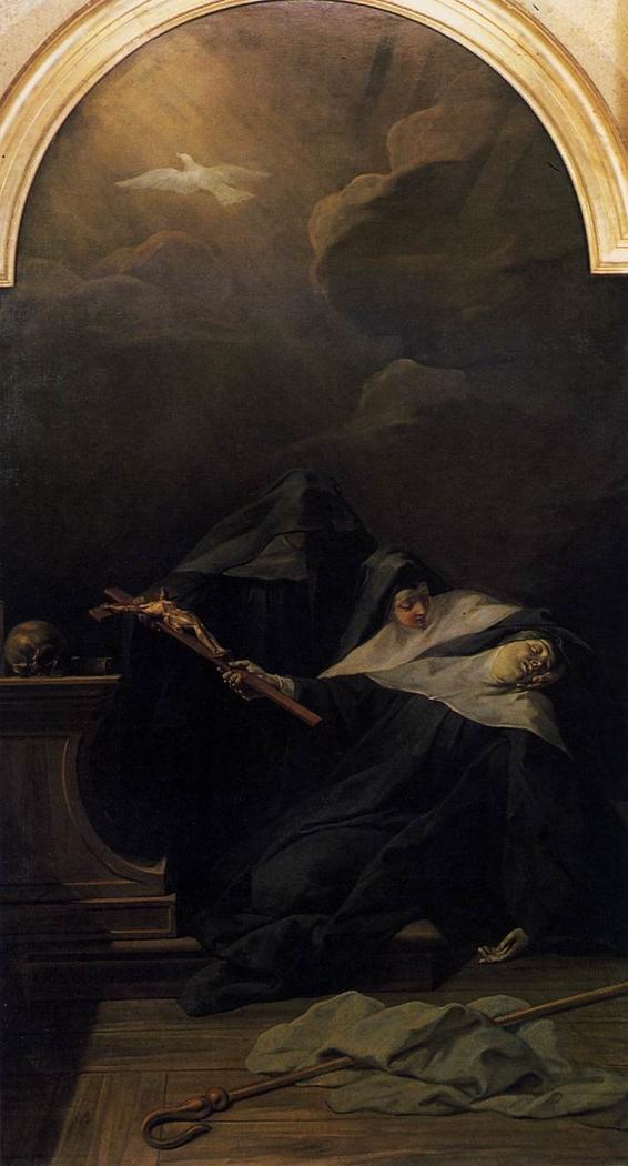Death of Saint Scholastica, Sister of Saint Benedict