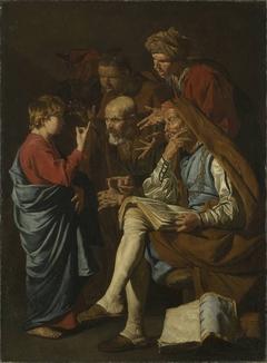 Der zwölfjährige Jesus unter den Schriftgelehrten