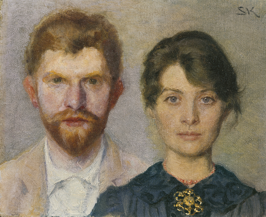 Double-portrait of Marie and P.S. Krøyer