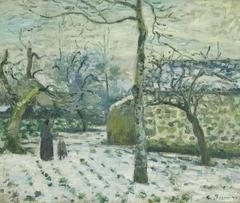 Effect of Snow at Montfoucault