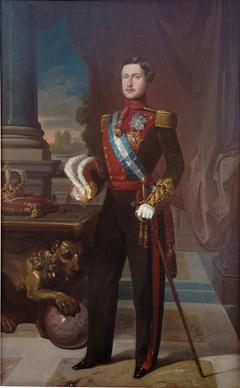 El rey Francisco de Asís con uniforme de capitán general