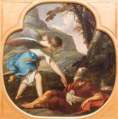 Élie nourri par les anges
