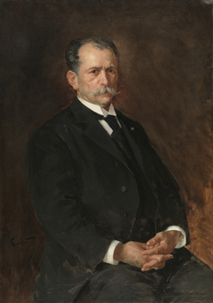 Enrique Simonet y Baca, the artist's father