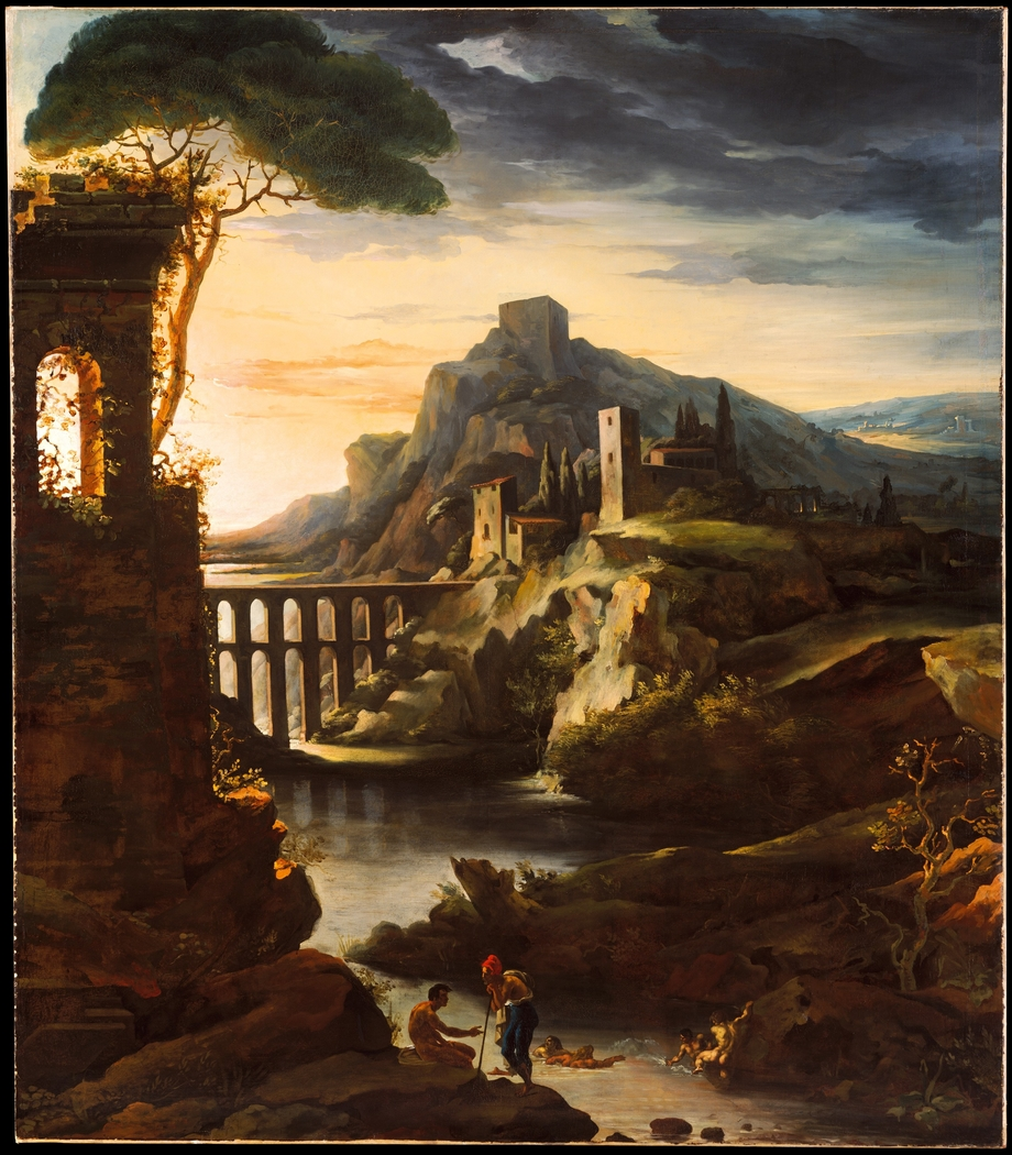 Evening: Landscape with an Aqueduct