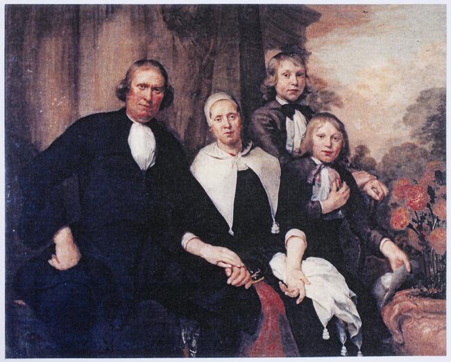 Family Portrait of De Lange
