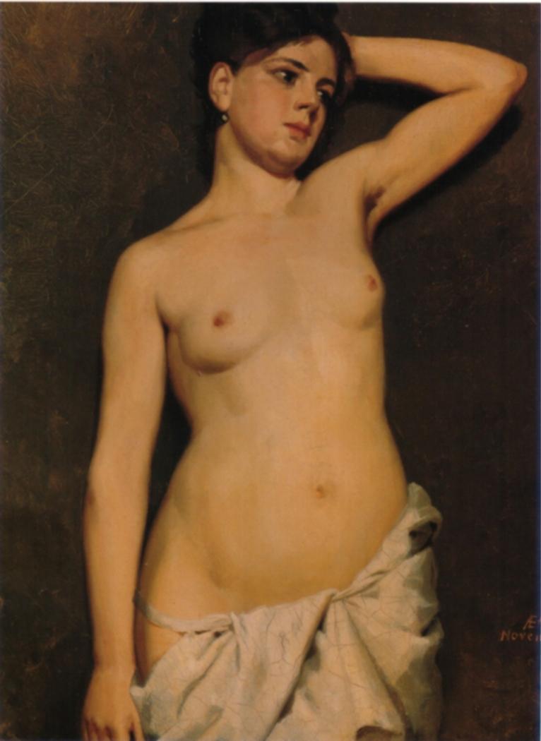 Female Nude, Study