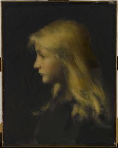 Fillette blonde