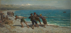 Fishermen at Menton