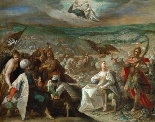 Five Allegories of the Turkish Wars: Conquest of conquest of Stuhlweissenburg