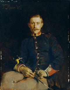 Franz Dangl in Uniform