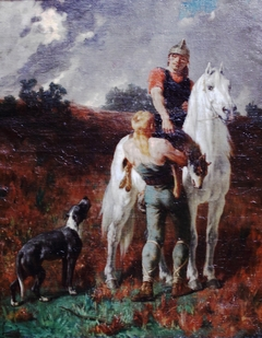 Gaul Returning from Hunting