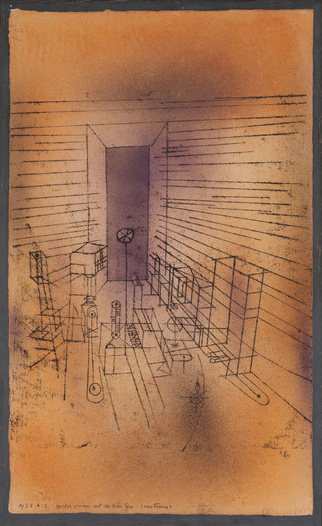 Ghost Chamber with the Tall Door (New Version)