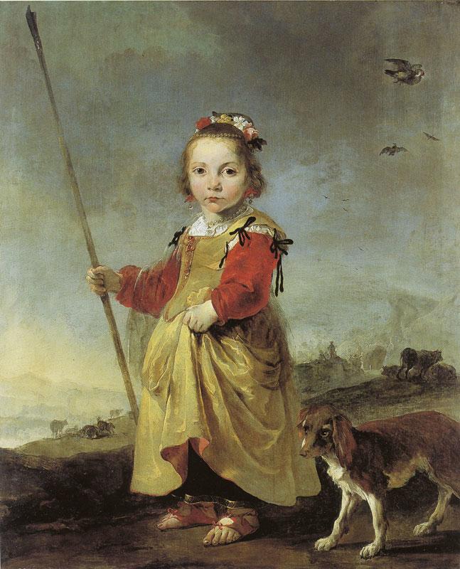 Girl as Shepherdess