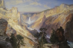 Grand Canyon of the Yellowstone, Wyoming