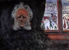 Henrik Ibsen at the Grand Café