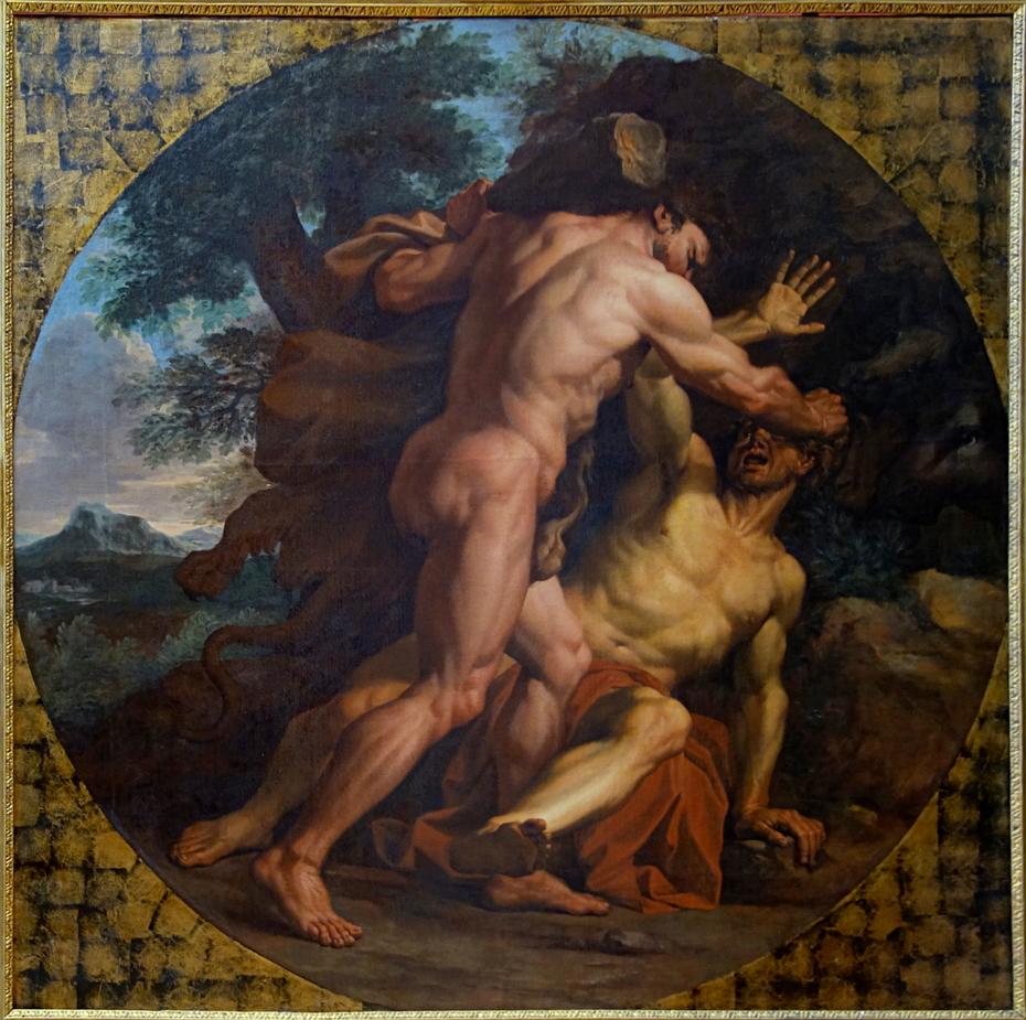 Hercule combattant Achelous