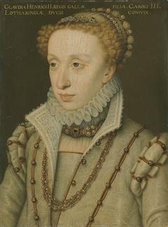 Herzogin Claudia, Tochter Heinrichs II. von Frankreich (Werkstatt)