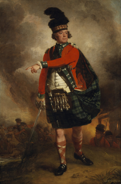 Hugh Montgomerie, 12th Earl of Eglinton. Soldier; Lord Lieutenant of Ayrshire