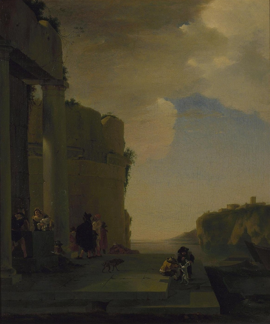 Imaginary Italian landscape