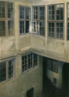 Interior of Courtyard, Strandgade 30