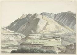 Italiaans landschap bij Subiaco