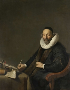 Johannes Wttenbogaert (1557-1644). Remonstrant Minister in The Hague