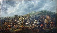 La défaite de Porus par Alexandre