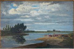 La Seine à Villeneuve-Saint-Georges