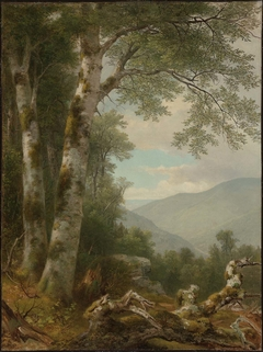 Landscape with Birches