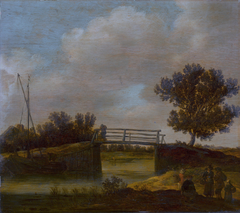 Landscape with Bridge, known as 'The Small Bridge'