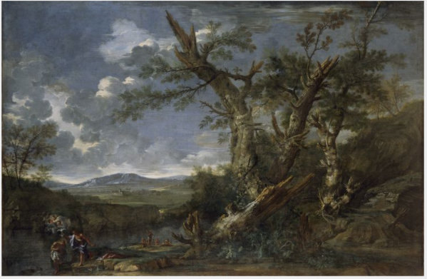 Landscape with the Baptism of Christ in the River Jordan